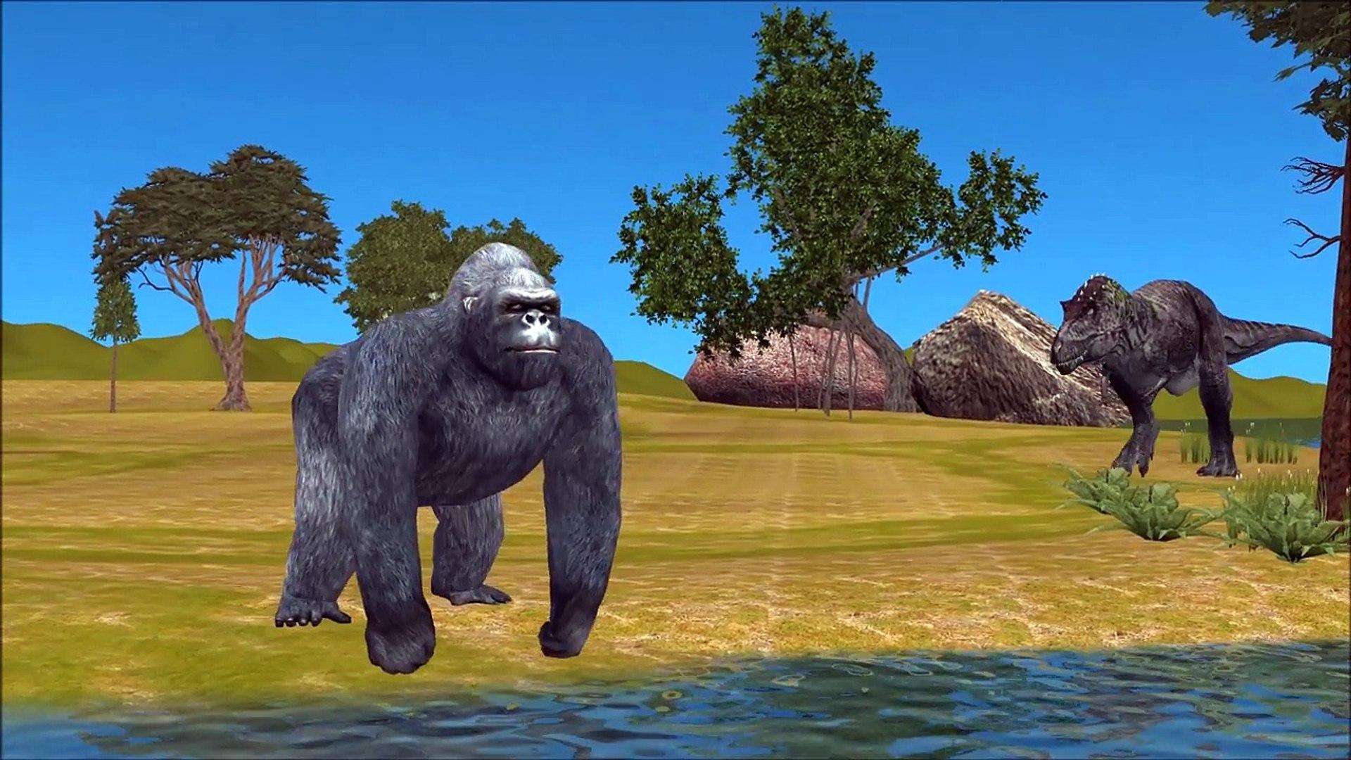 Gorilla Vs T Rex