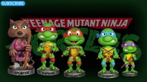 DADDY FINGER TEENAGE MUTANT NINJA TURTLES TMNT Leonardo, Raphael, Michaelangelo,