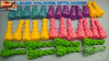 Learn Colours with Easter Bunnies and Bendy Easter Bunnies! Fun Learning Contest