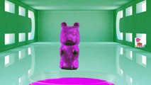 Learn Colors Bubble Gum Surprise Colours - Teach Colors Clay Slime Surprise Toys Kids Learning Video
