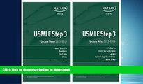 FAVORITE BOOK  USMLE Step 3 Lecture Notes Bundle  BOOK ONLINE