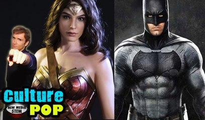 WONDER WOMAN, BATMAN OR WHO IS YOUR FAVORITE SUPERHERO? | Culture POP