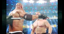 Bill Goldberg Vs Brock lesner   wwe survivor series bill goldberg vs brock lesnar! goldberg wins