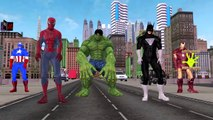 Superheros Finger Family   Finger Family Rhymes Collection   Superheroes Singing Nursery Rhymes
