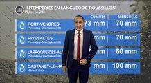 Intempéries dans le Languedoc-Roussillon : le bilan ce dimanche