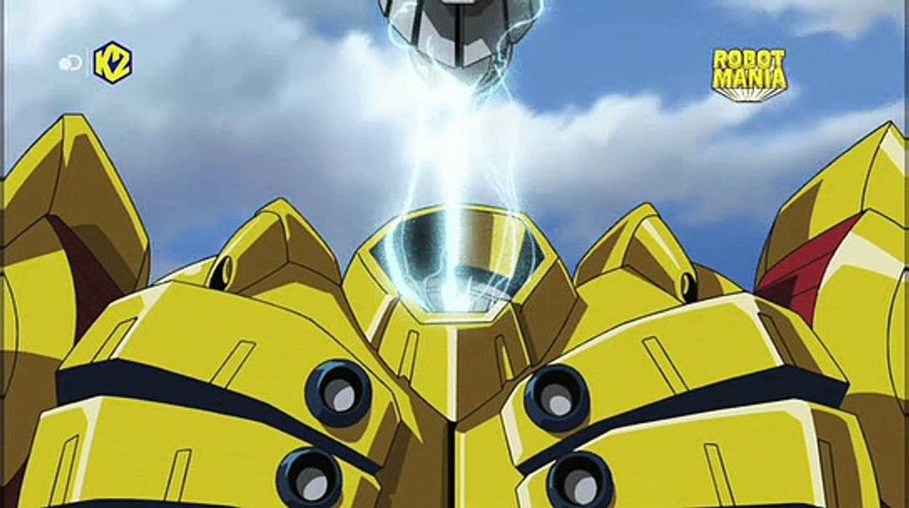 Shin jeeg robot dacciaio 1x09 annientate la base antiatomica