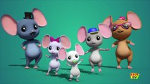 mouse finger family - nursery rhyme - baby songs - childrens rhymes _ 3d rhymes