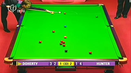 funny end of snooker game