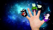 Peppa pig has become a bat wicked witch Finger Family Nursery Rhymes Lyrics Parody