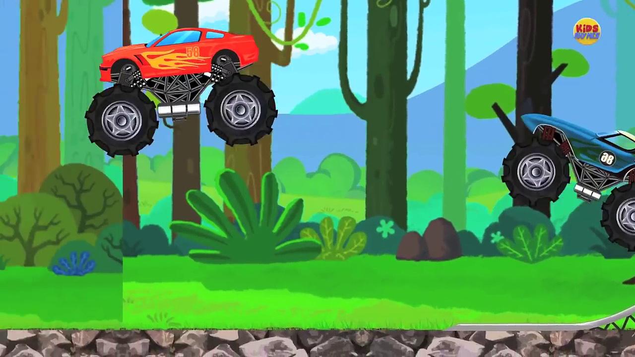 Monster Truck VS Monster Truck | Cars And Trucks | Trucks Race