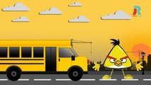 The Wheels on the Bus go round and round Rhyme With Lyrics - Animation Nursery rhyme for children