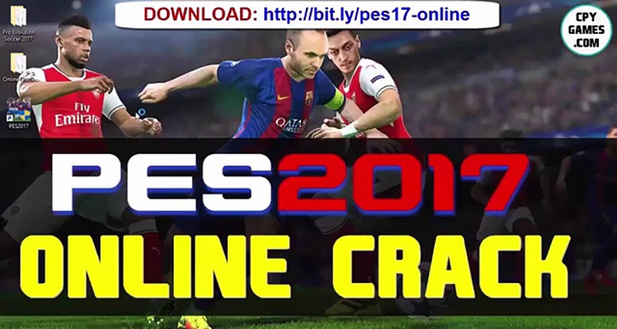 crack online pes 2017 pc