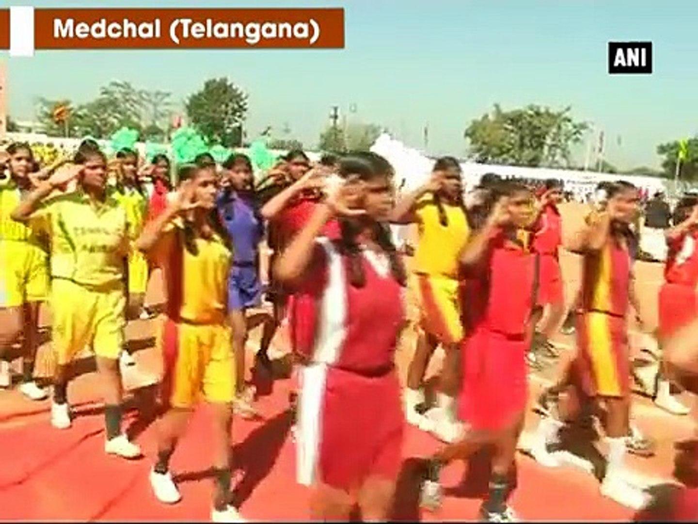 Telangana Transport Minister K. Kavitha inaugurate three-day sports meet - ANI News
