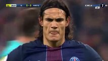 Cavani GOAL - Olympique Lyon vs PSG 0-1 (Gol Cavani)