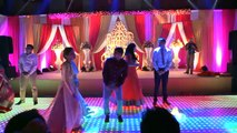 New Indian Wedding Dance by Beautiful Couple , Engagement Sangeet Reception  Performance