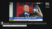Primaire de la droite : revivez le discours d'Alain Juppé et de François Fillon après les résultats