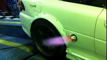 Subaru GC8 Anti Lag Flame Thrower Side Exhaust 600WHP