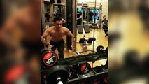 Salman's Brother-In-Law Aayush Sharma's HOT Workout In Gym