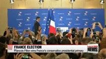 Francois Fillon wins France's conservative presidential primary