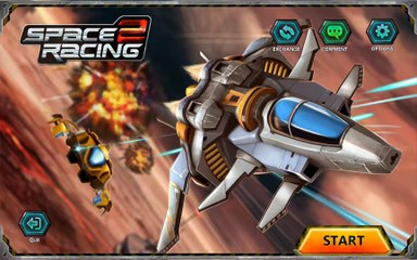Space Racing 2 - Android gameplay PlayRawNow