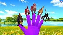 Dinosaurs Finger Family Songs | Finger Family Dinosaur Nursery Rhymes | Mega Dinosaurs Collection