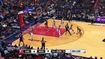Kawhi Leonard Layup And-One | Spurs vs Wizards | November 26, 2016 | 2016-17 NBA Season