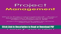 Read Project Management: What is Project Management? - Project Management Basics and Essential