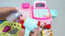 Play Doh Toys Cash Register Shopping Market Learn Colors Slime Play Doh Toy Surprise Eggs