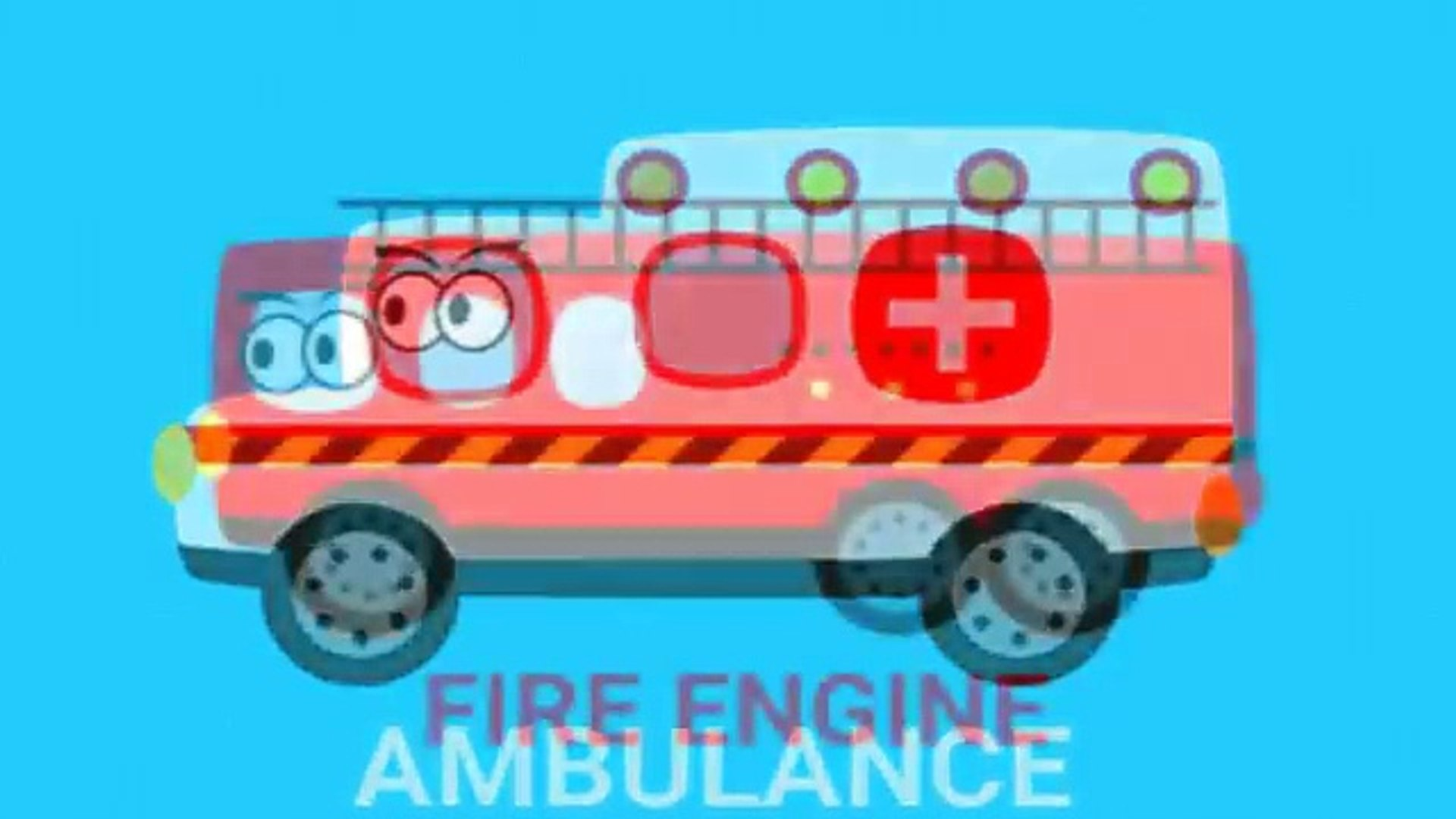 Learning vehicles for kids Learn vehicle names for children Learning rescue vehicles for kids