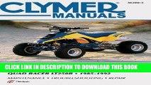 [PDF] Mobi Suzuki Quad Racer LT250R (Clymer Manuals: Motorcycle Repair) Full Online