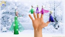 Frozen Elsa Colors Finger Family Nursery Rhymes For Children | Frozen Songs Finger Family Rhymes