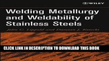 [PDF] Welding Metallurgy and Weldability of Stainless Steels Full Collection