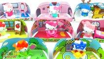 8 Jajko Niespodzianka Zabawki Hello Kitty Kinder Niespodzianki Kolekcja kotów dla dziewczynek