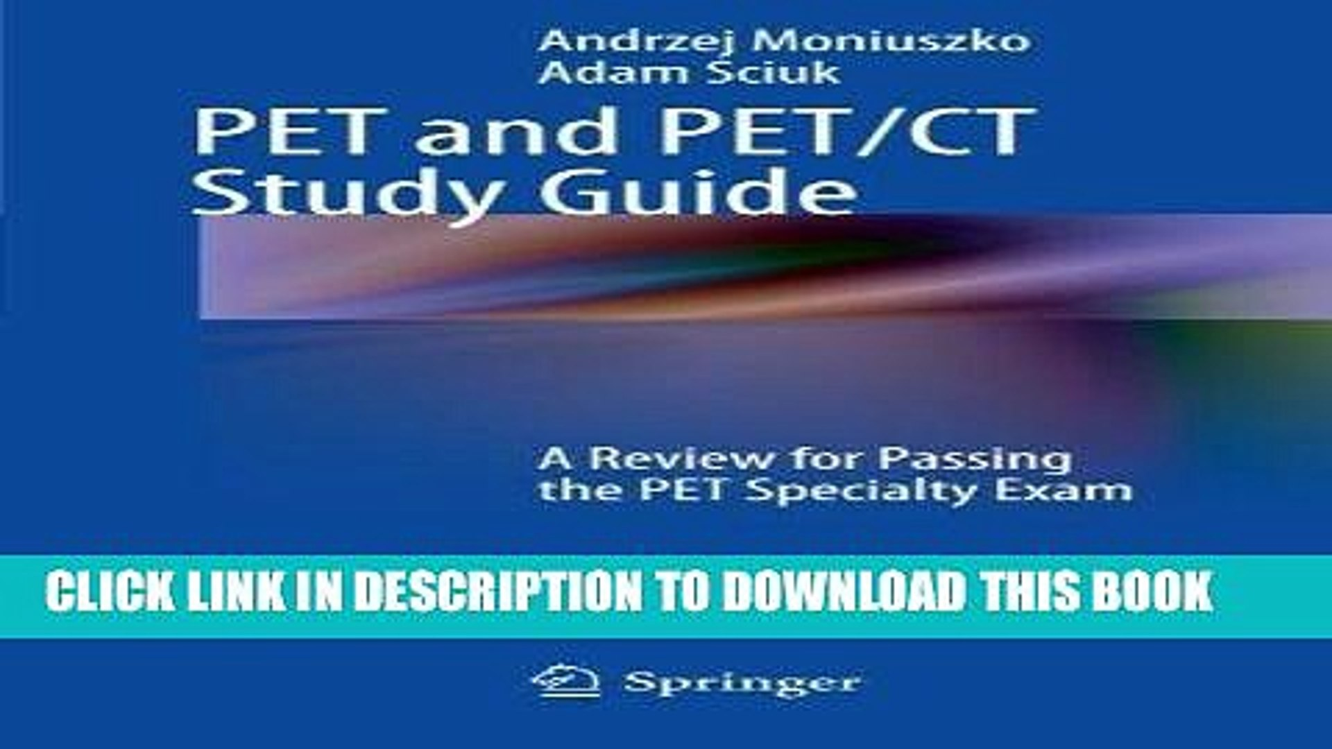 [READ] Kindle PET and PET/CT Study Guide: A Review for Passing the PET Specialty Exam Audiobook