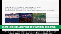 [READ] Mobi Cell Culture Models of Biological Barriers: In vitro Test Systems for Drug Absorption