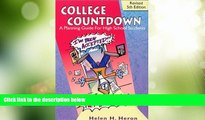 Best Price College Countdown: A Planning Guide for High School Students Helen H. Heron On Audio