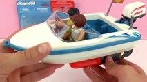Moteur pour Speedboat Playmobil | Moteur submersible pour bateau