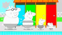 Peppa Pig Swimming Coloring Pages Peppa Pig Coloring Book Video