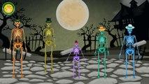 Skeleton Finger Family   Crazy Skeleton Finger Family   Dancing Skeleton Finger Family Nursery Rhyme