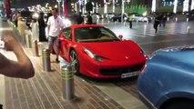 Car Spotting in Dubai - Lamborghini aventador, bentley, ferrari and more!