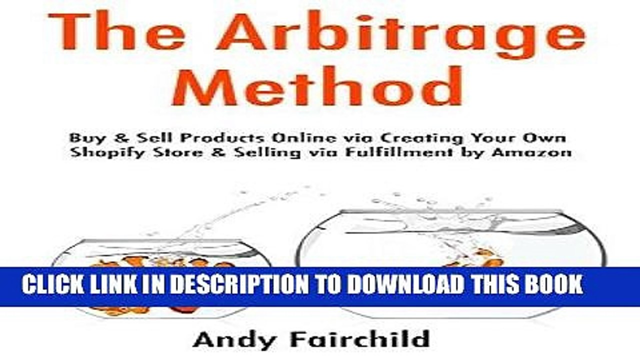 [PDF] The Arbitrage Method: Buy Sell Products Online via Creating Your Own  Shopify Store