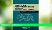 Best Price California Performance Test Workbook: Preparation for the Bar Exam Mary Basick For Kindle