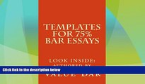 Price Templates For 75% Bar Essays: Create  the 75% essay even on the fly Value Bar On Audio