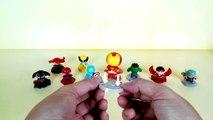 Superhero marvel toys, Spiderman vs Venom, Hulk, Thor, Iron man, wolverine, Captain America