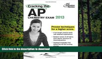 FAVORIT BOOK Cracking the AP Chemistry Exam, 2013 Edition (College Test Preparation) by Princeton