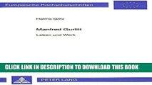 Best Seller Manfred Gurlitt: Leben und Werk (Europäische Hochschulschriften / European University