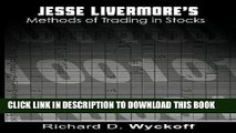 [PDF] Jesse Livermore s Methods of Trading in Stocks Full Collection