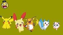 Nursery Rhymes Songs | Pokemon Finger Family Songs for Children Nursery Rhymes | Rhymes Nursery