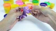 Red Shark Vs Dinosaur Play Doh Surprise Toys   Fun Play Doh Sharks Fights Clay Animation
