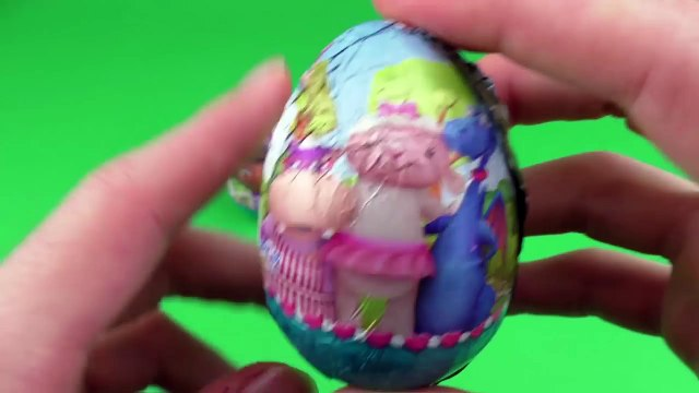 Doc McStuffins Surprise Eggs Opening - Lambie, Hallie, Doc McStuffins Toys